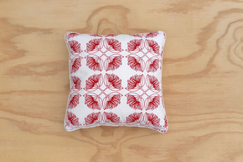 Pohutukawa Natural Piped 40cm Cushion