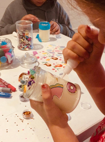 Creating Candles with Kids - Holiday Workshop