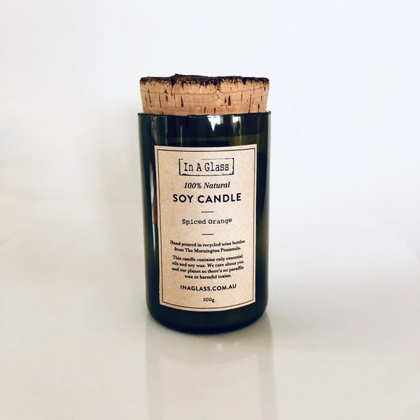 100% Natural Soy Candle - Spiced Orange