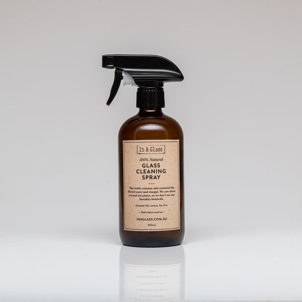 100% Natural Glass Cleaning Spray
