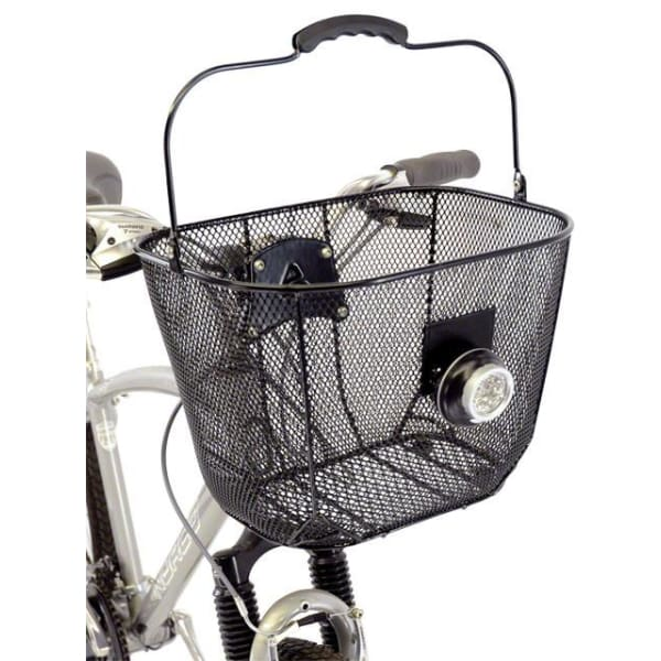 Axiom Fresh Mesh DLX Front Basket: Black Mesh