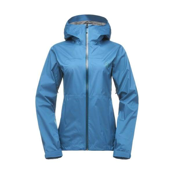 Black Diamond Women's StormLine Stretch Rain Shell Jacket - Aegean