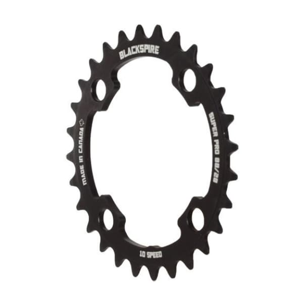 Blackspire Super Pro M985X Chainring - Anodized Black | 28t - Chainrings & Guards
