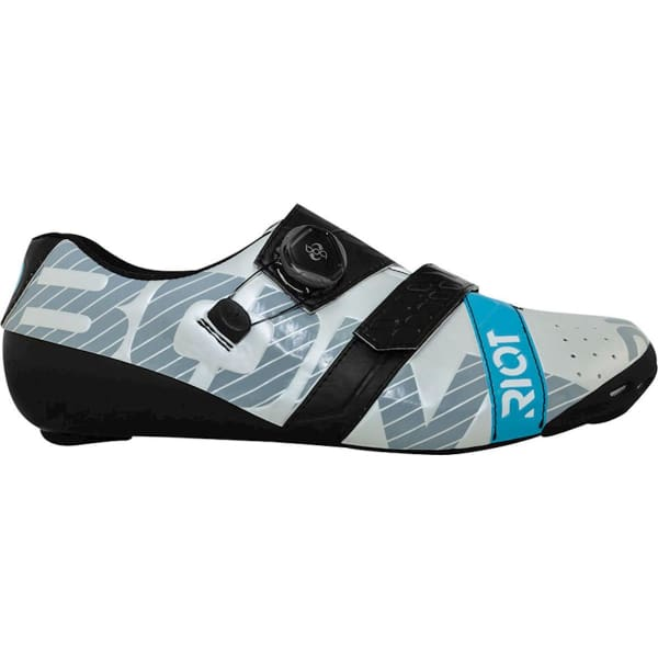 BONT Riot Road+ BOA Cycling Shoe: Pearl White/Black