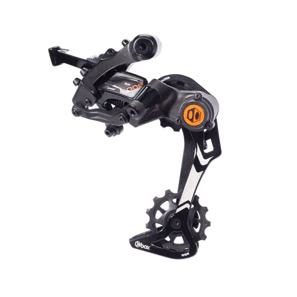 BOX One 11 Speed Rear Derailleur (Wide Cage): Hard Onyx