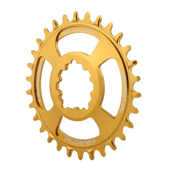 Burgtec GXP Boost Thick Thin Chainrings: Bullion Gold