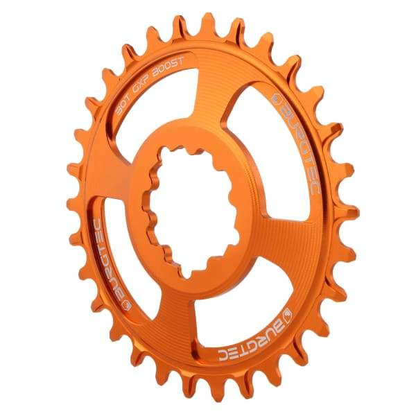 Burgtec GXP Boost Thick Thin Chainrings: Iron Bro Orange