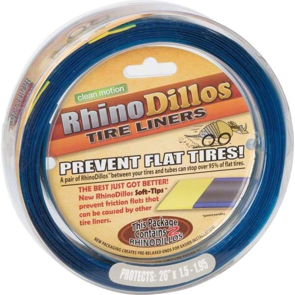 Clean Motion Rhinodillos Tire Liner - Silver/26 x 1.5-1.95 - Tubes & Tube Care