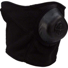 ColdAvenger Classic Fleece Half Mask Black - Ear and Neck Protection