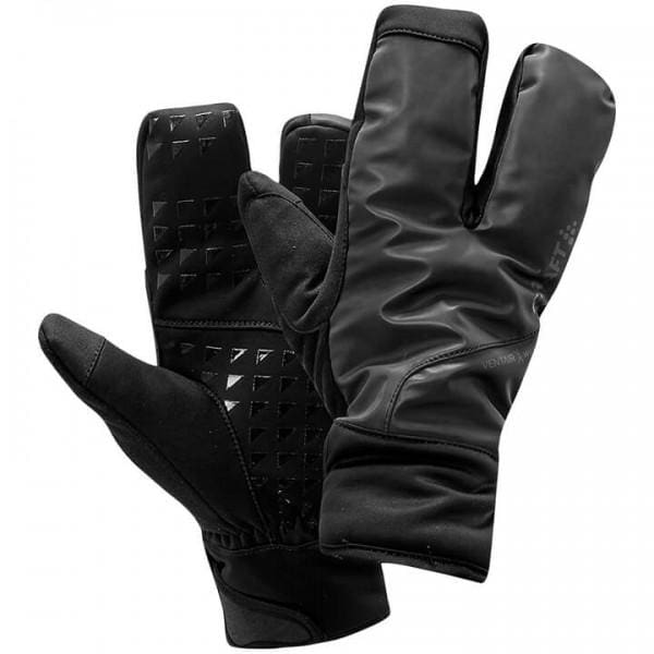 Craft Siberian 2.0 Split Finger Gloves, Black