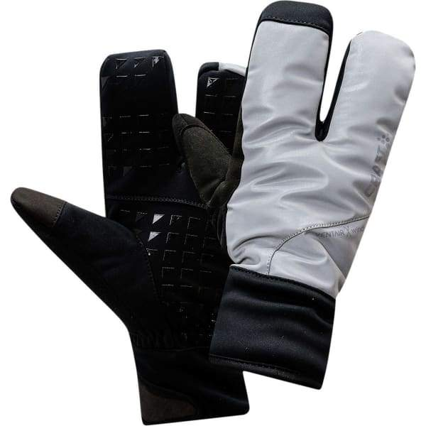 Craft Siberian 2.0 Split Finger Gloves - Silver/Black