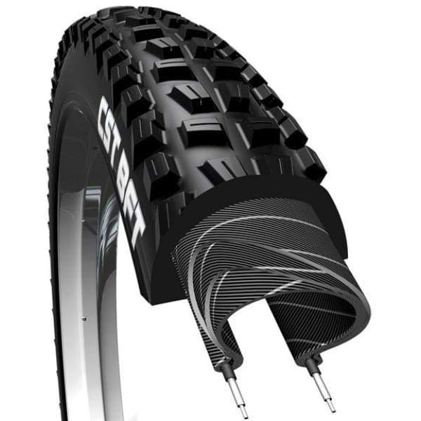 Cst Bft K Tire - 26 | 2.25 | Single | Folding | 60TPI | Black | 865G - Tires
