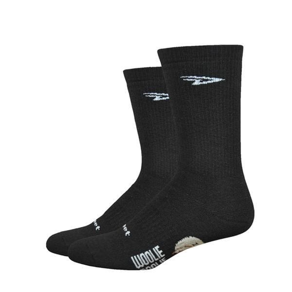 "DeFeet Woolie Boolie Comp 6"" Socks, Black"