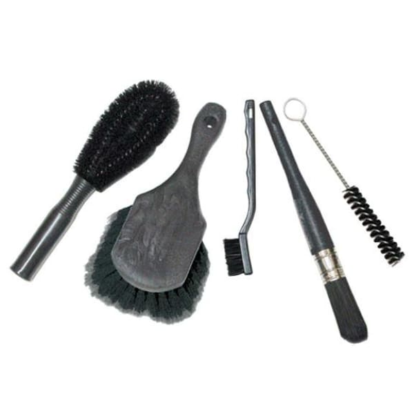Finish Line Easy-Pro Brush Set - Easy-Pro brush set 5-piece + hang chain - Maintenance Products