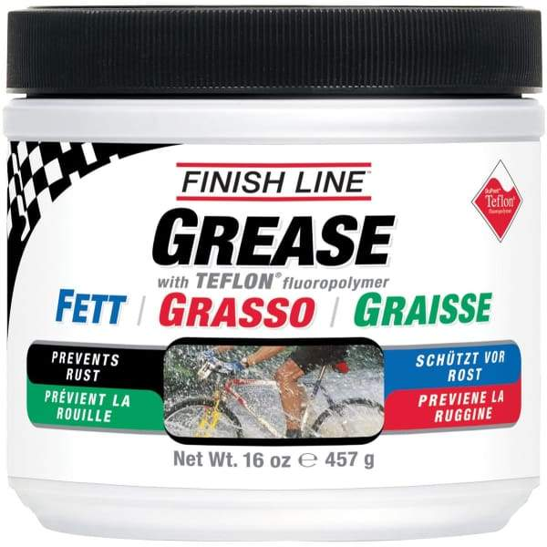 Finish Line Teflon Grease - no / 16oz (1 pound) tub - Maintenance Products