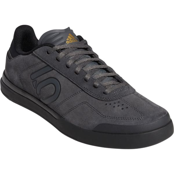 Five Ten Sleuth DLX Men's Flat Shoe: Gray Six/Black/Matte Gold