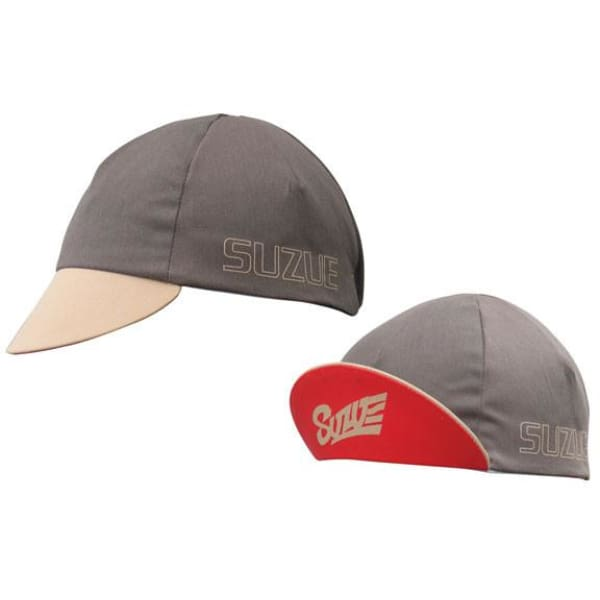 IDG Suzue Cycling Cap: Brown/Red - Caps
