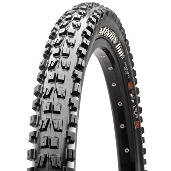 Maxxis Minion-DHF W Tire - 26 Dh | 2.5 | Single | Non-Folding | 60TPI 2-Ply | Black | 1180G - Tires