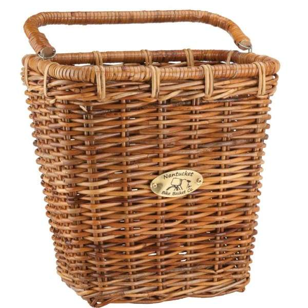 Nantucket Cisco Rectangular Pannier Basket: Honey