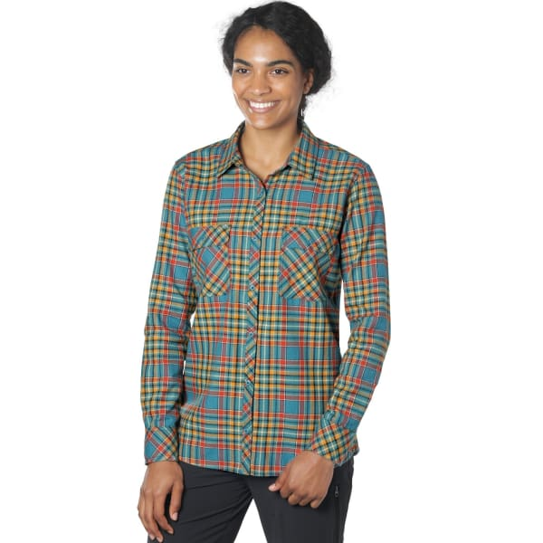 Outdoor Research Ceres II Women's Flannel Shirt: Washed Peacock