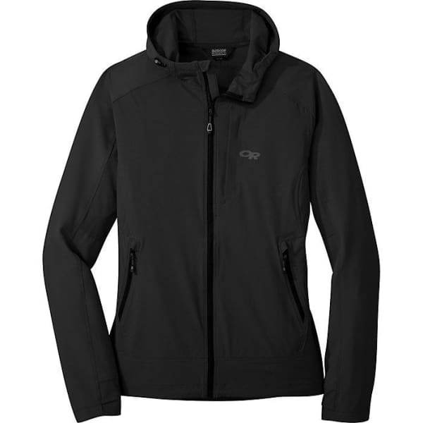 Outdoor Research Ferrosi Women's Hooded Jacket, Black