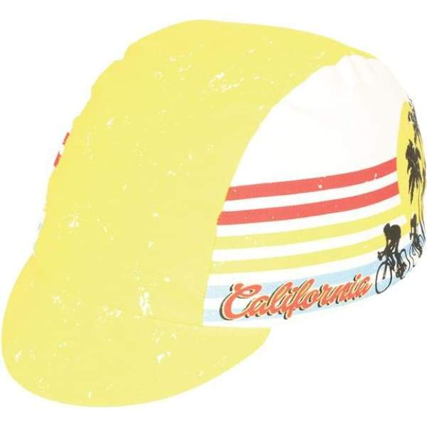 Pace Cycling Cap - Cali Dreamin / Yellow - Cycling Cap
