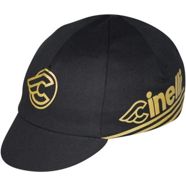 Pace Cycling Cap - Cinelli Gold / Black - Cycling Cap