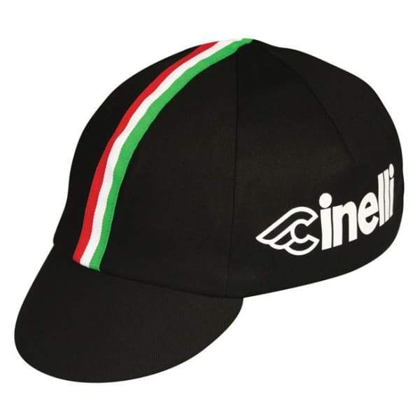 Pace Cycling Cap - Cinelli Italia / Black - Cycling Cap