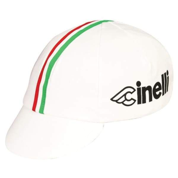Pace Cycling Cap - Cinelli Italia / White - Cycling Cap