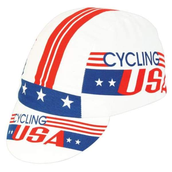 Pace Cycling Cap - Cycling USA / Red/Blue/White - Cycling Cap
