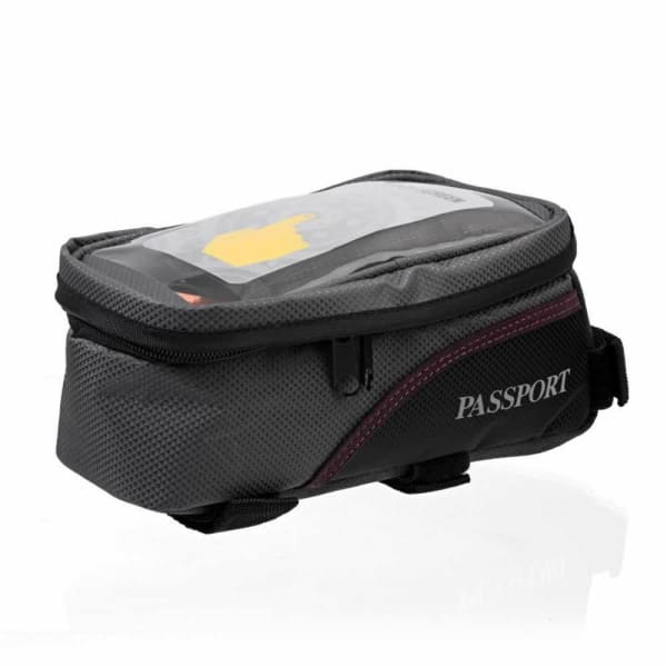Passport Top Tube Bag, Touch Phone Top (1.8L) - Grey