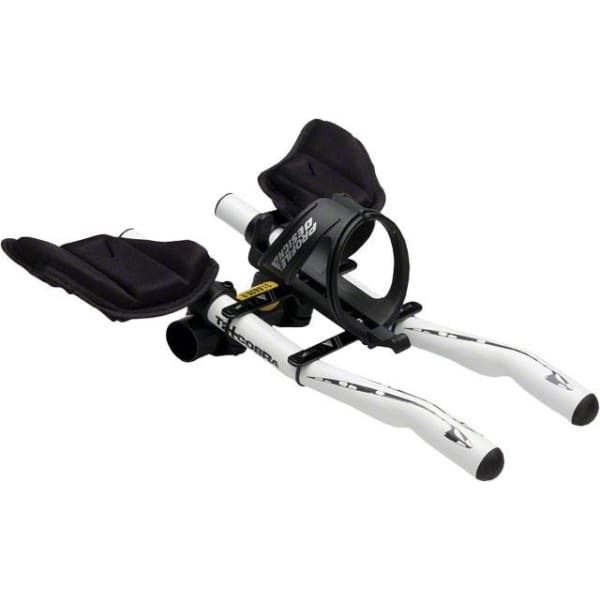 Profile Design Aerobar Water Bottle Cage and Mount: Black