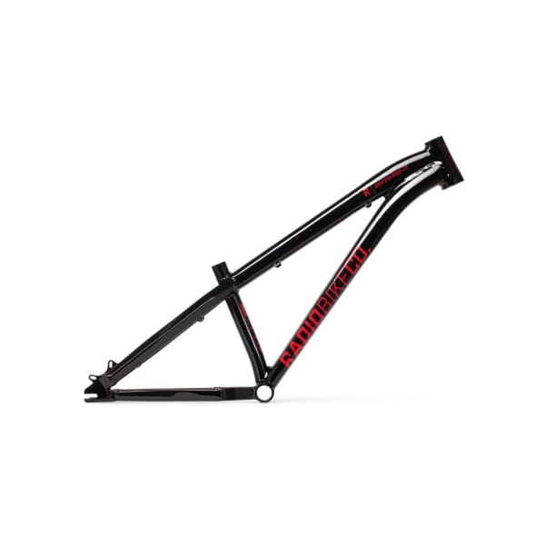 "Radio Griffin Pro 26"" Dirt Jump Frame, Glossy Black"
