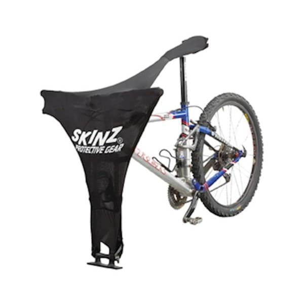 Skinz Bike Protector: For Bikes on Fork Mounted Rack - Black