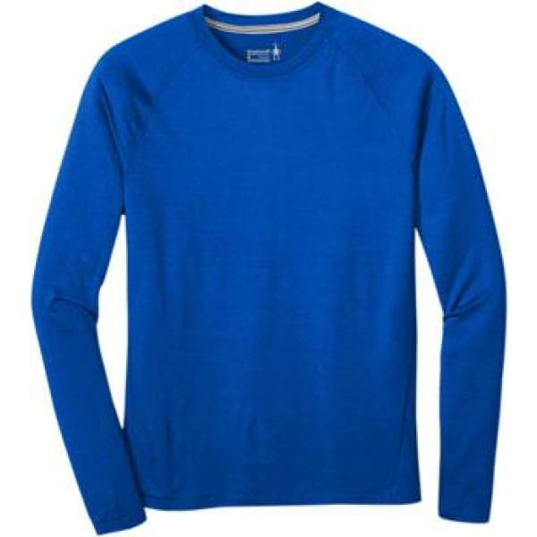 Smartwool Merino 150 Men's Long Sleeve Base Layer Top: Bright Blue
