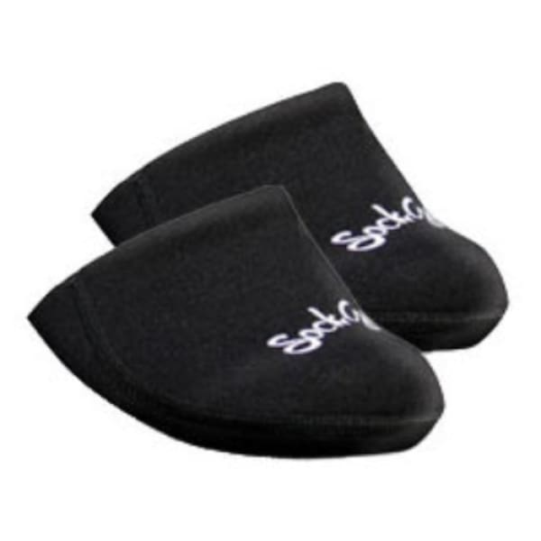 Sockguy Cozy Toes Shoe Covers: Black
