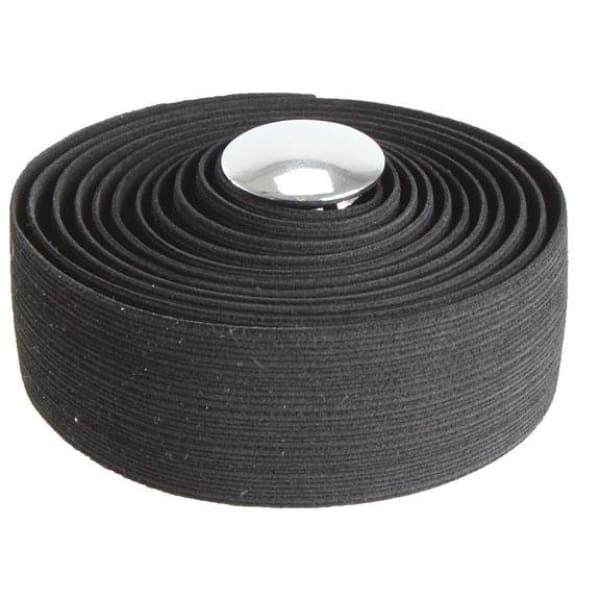 Soma Thick And Zesty Striated Bar Tape - Black - Bar Tape