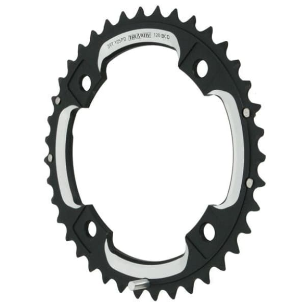 Truvativ X0/X9 10sp Mtn Aluminum Chainring - 4x120mm / 2x10sp / 39t (GXP) - Chainrings & Guards