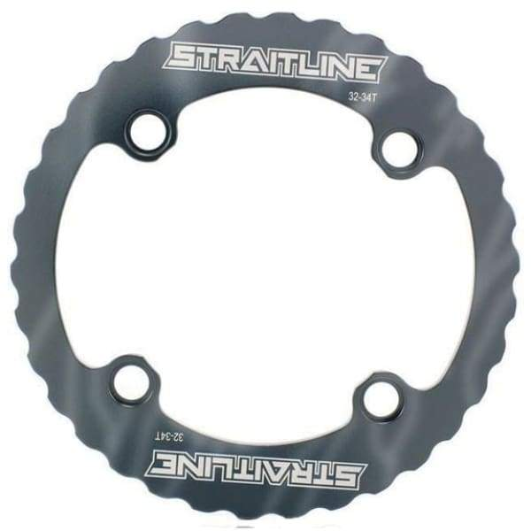 Straitline Serrated Bash Ring - Chainrings & Guards