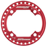 Straitline SG Bashrings - red / 32t only - Chainrings & Guards