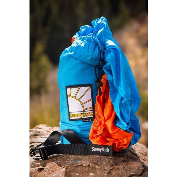 TheSunnysideShoppe SunnySack Double Hammock (Tree Straps and Carabiners Included)