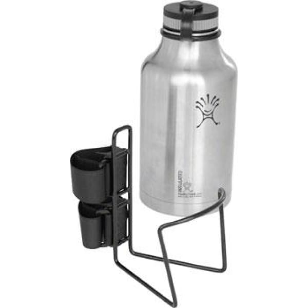 Twofish Vinyl Coated Growler Quick Cage: Vinyl Coated Black - Water Bottle Cage