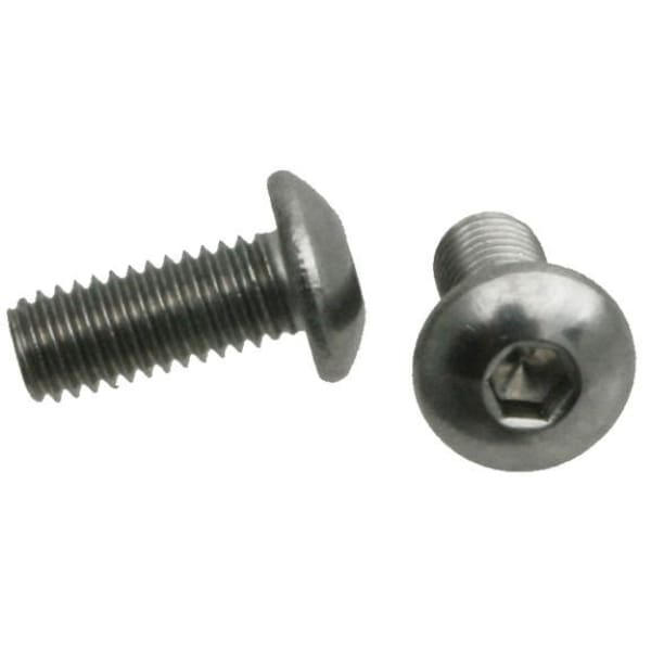 Wheels Stainless Steel Bolt - button hex cap / 12mm / M5 - Fasteners