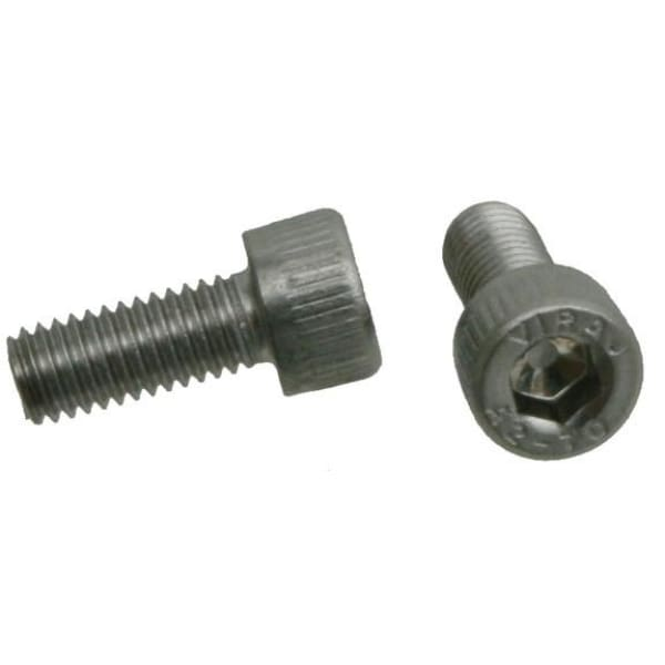 Wheels Stainless Steel Bolt - socket hex cap / 12mm / M5 - Fasteners