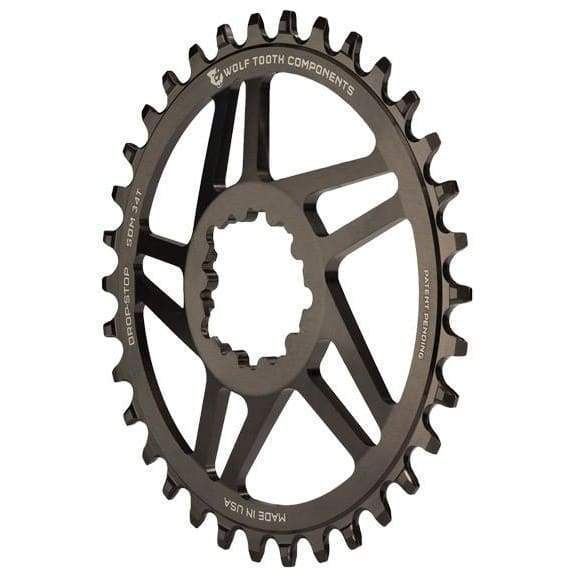 Wolf Tooth 5-Spoke GXP Direct Mount Ring - 30t - Chainrings & Guards