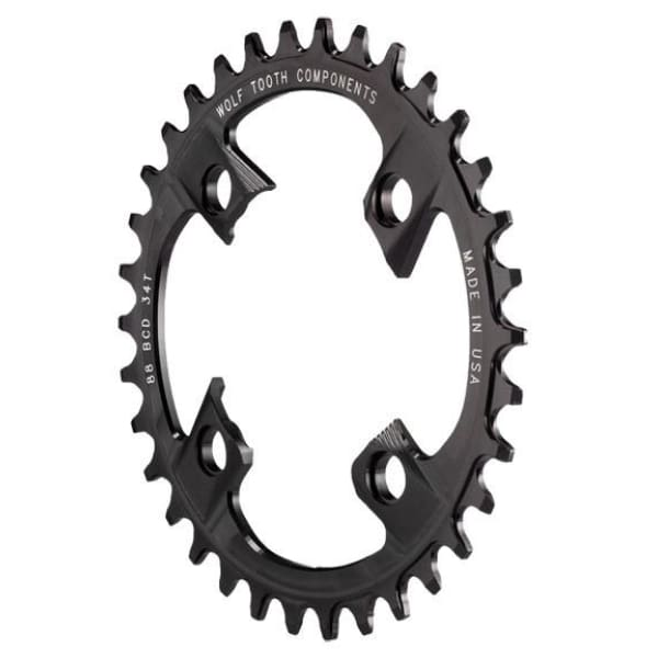 Wolf Tooth Components Drop-Stop Chainring: for Shimano XTR M985 Cranks - 30t - Chainrings & Guards