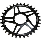 Wolf Tooth Cinch Direct Mount Drop-Stop Chainring: Black - 32t - Chainrings & Guards