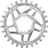Wolf Tooth Stainless GXP Direct Mount Drop-Stop Chainring - 28t - Chainrings & Guards