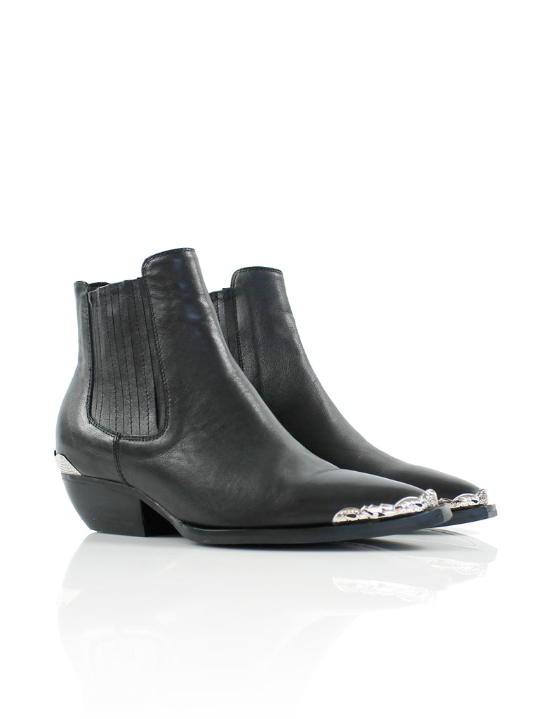 Dylan Boot Black/Silver