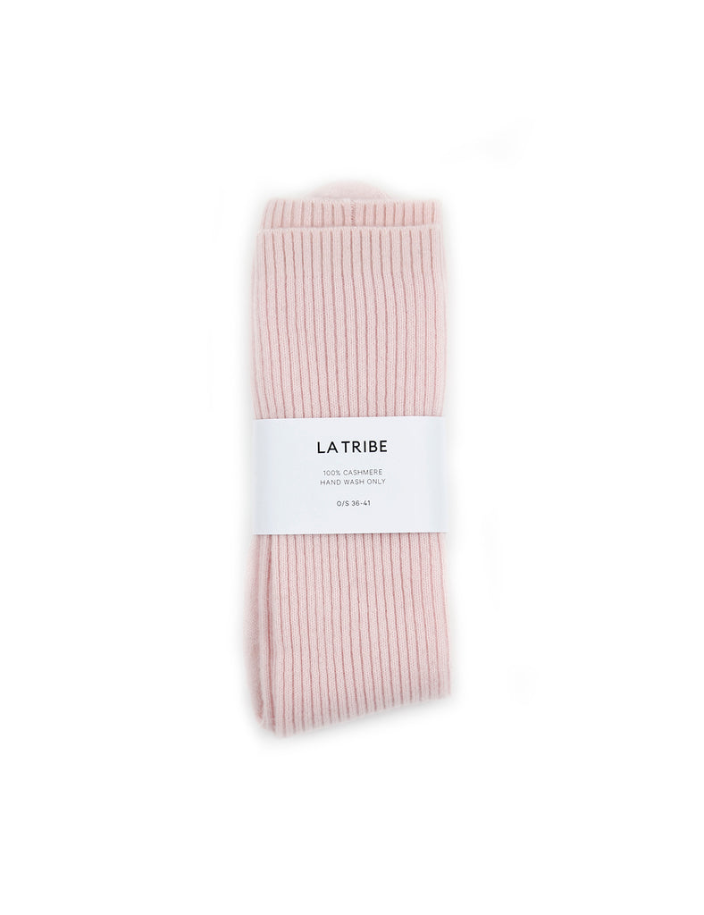 Cashmere Bed Sock Blush